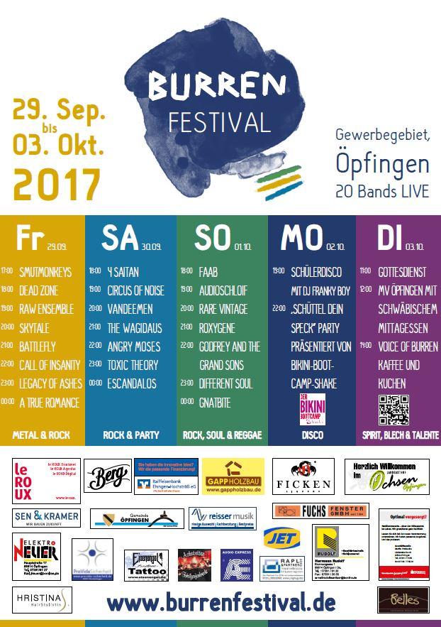 Burren Festival Gemeinde Opfingen